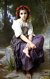 William-Adolphe Bouguereau (1825-1905) - At the Edge of the Brook (1875).jpg