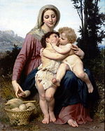 William Adolphe Bouguereau The Holy Family.jpg
