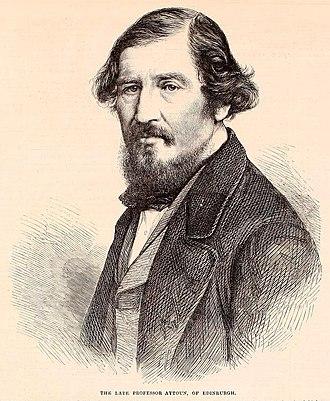 William Edmondstoune Aytoun - Image: William Aytoun