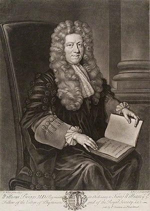 William Briggs (physician) - William Briggs (1697).
