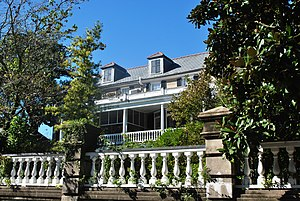 William Bull (governor) - William Bull's House, Charleston