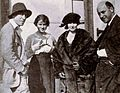 William C deMille, Jeanie MacPherson, Elinor Glyn, & Cecil B DeMille - Dec 1920 EH.jpg
