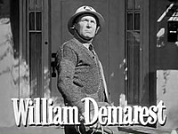 William Demarest in When Willie Comes Marching Home trailer.jpg