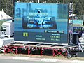 Williams on big screen at the 2003 Hungarian Grand Prix.jpg