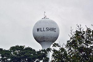 Willshire, Ohio - Willshire water tower