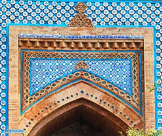 Tomb of Shah Rukn-e-Alam - The masuoleum is decorated with Multan-style tile work.