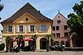 Wine building and Restaurant at the freiburg church square - panoramio.jpg