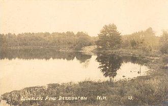 Barrington, New Hampshire - Winkley's Pond c. 1915