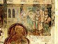 Wissous (91), église Saint-Denis, bas-côté, fresque de sainte Barbe, 6e tableau.jpg