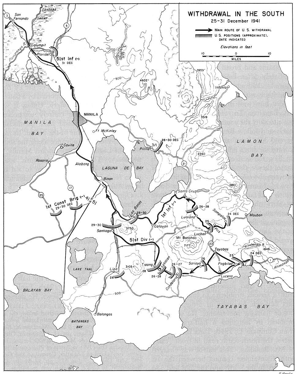 Withdrawal South Dec 1941