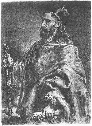 Władysław I Herman - Portrait by Jan Matejko.