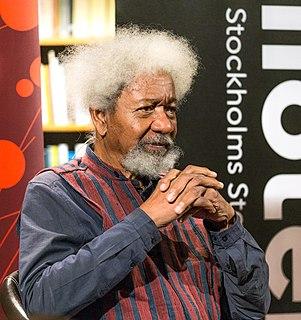Wole Soyinka Nigerian writer