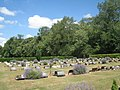 Woodlands Cemetery and Brumby Woods - geograph.org.uk - 1969546.jpg