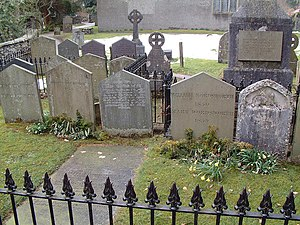 St Oswald's Church, Grasmere - Wordsworth graves