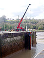 Work on the Lock Gate - geograph.org.uk - 129140.jpg