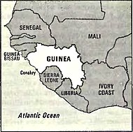 World Factbook (1982) Guinea.jpg