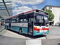 Wormser Busbahnhof- Richtung Mainz (Nord) (Bus Mercedes-Benz LU-ET-795) 4.5.2009.JPG