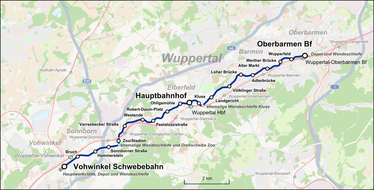 Wuppertaler Schwebebahn Karte.png