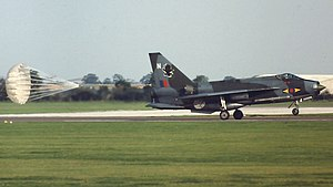 No. 11 Squadron RAF - Lightning F3 of 11 Squadron in 1980