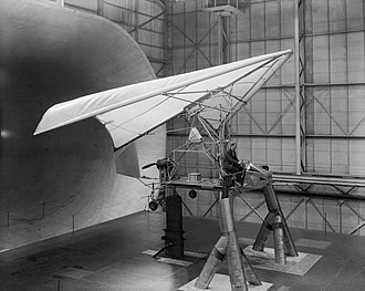 """Ryan XV-8 - XV-8 """"Fleep"""" tested in the Full Scale Tunnel at Langley, 1962"""