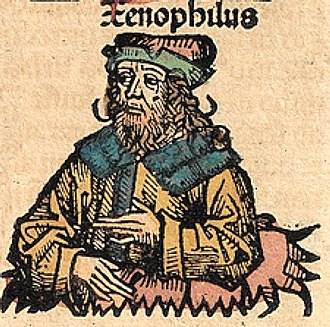 Xenophilus - Xenophilus, depicted as a medieval scholar in the Nuremberg Chronicle.