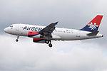 YU-APF A319 Air Serbia (14600805749).jpg
