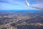 YVR to MIA flight - Dallas-Fort Worth environs - (24838086795).jpg