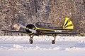 Yak-52 at sunset (6896533960).jpg