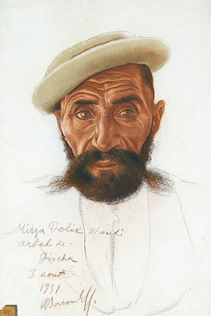 Wakhi people - Portrait of a Wakhi man
