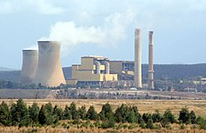 Yallourn Power Station in the Latrobe Valley