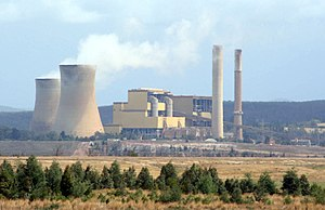 Latrobe Valley - Yallourn W Power Station.