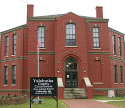 Yalobusha County Courthouse, Coffeeville, Mississippi