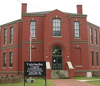 Coffeeville, Mississippi - Yalobusha County Courthouse