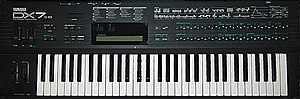 Oktophonie - Yamaha DX7-II synthesizer, similar to one of the synthesizers used in producing Oktophonie