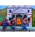 Yamunotri dhaam wall mural by artist rajesh chabdra .jpg