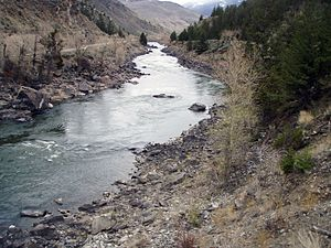 Yankee Jim Canyon, Yellowstone River, Park Cou...