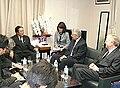 Yasukazu Hamada Chuck Hagel and Tom Schieffer 20081016.jpg