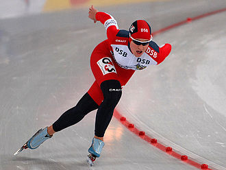 Yekaterina Abramova - Abramova at the 2008 World Cup in Hamar