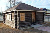 Yellowknife's first public school (west side).JPG
