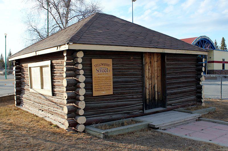 File:Yellowknife's first public school (west side).JPG