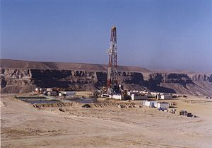 Energy in Yemen -  Oil drilling in Yemen