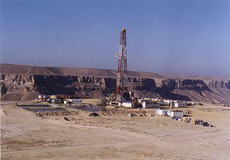Energy in Yemen -  Oil drilling in Yemen