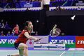 Yonex IFB 2013 - Quarterfinal - Sudket Prapakamol - Saralee Thungthongkam vs Kenichi Hayakawa - Misaki Matsutomo 23.jpg