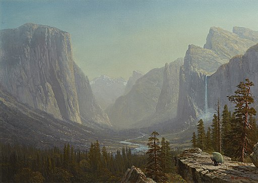 Yosemite by Albert Bierstadt, c1875