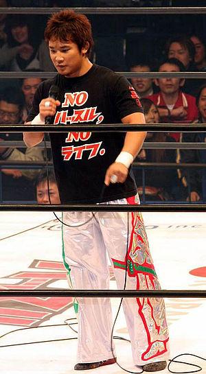 Yujiro Kushida - Kushida in 2008
