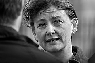Kennedy Scholarship - The Right Honourable Yvette Cooper, the Shadow Home Secretary (2011–2015). She was the first woman and the second Kennedy Scholar to hold the Cabinet post of Chief Secretary to the Treasury