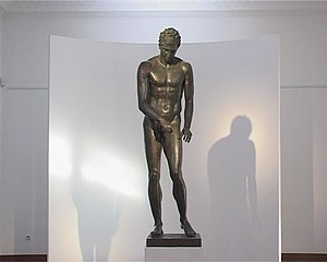 Lošinj - The bronze Apoxyomenos, found and recovered off Vele Orjule, Croatia