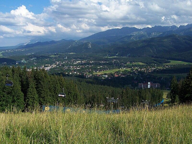 Pontos turísticos de Zakopane