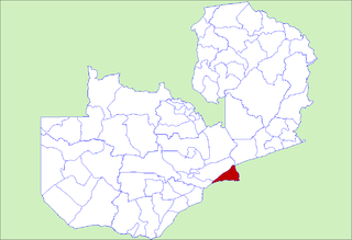 District in Lusaka Province, Zambia