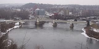 Y-Bridge (Zanesville, Ohio) United States historic place